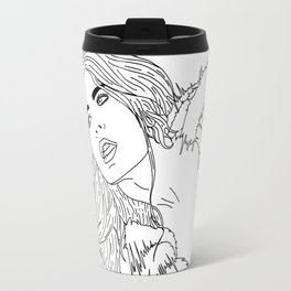 Free The Nipple Travel Mug