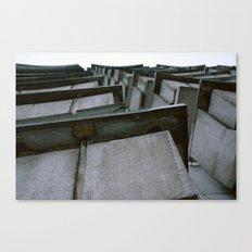 2010 - Concrete Balcony Jungle Canvas Print