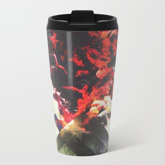 Smoky mountains Metal Travel Mug