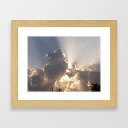 Heavens gate 2 Framed Art Print