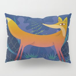 Fox in the Night Forest Pillow Sham