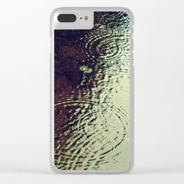 The Skin Of The Water Clear iPhone Case