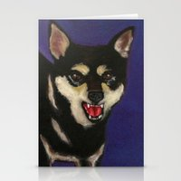 fierce Stationery Cards featuring FIERCE by Sasha Rad
