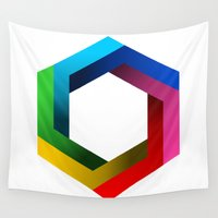 psychology Wall Tapestries featuring Bequiz by Bequiz
