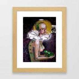 Sfumato Identity Framed Art Print
