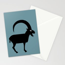 Angry Animals - Ibex Stationery Cards