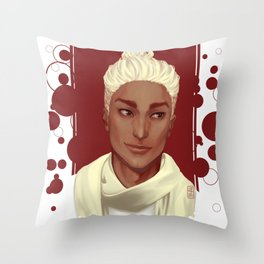 Burgundy Throw Pillow
