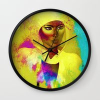 philosophy Wall Clocks featuring Colors Of Philosophy by TK0920