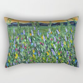 twilight mountain Rectangular Pillow