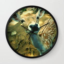 Dear Deer Friend Wall Clock