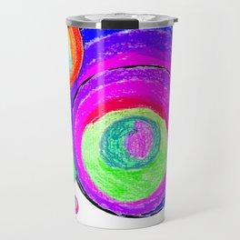 Colorful Secret Geometry | painting by Elisavet #society6 Travel Mug