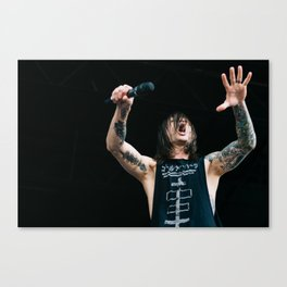 blessthefall at Warped Tour '15 Canvas Print