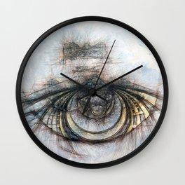 Eye of the Beholder Wall Clock