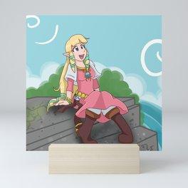 Skyward Princess Mini Art Print