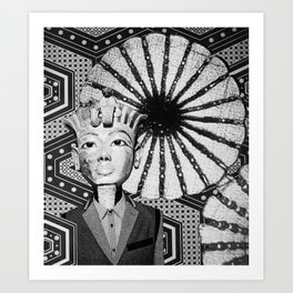 Ergotankhamun Art Print
