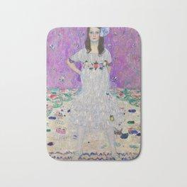 Portrait of Mäda Primaves by Gustav Klimt (1912-1913) Bath Mat