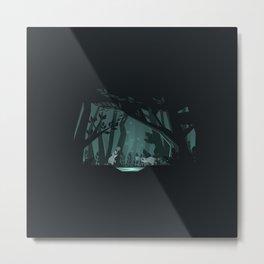 Chasing fireflies Metal Print