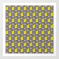 Stripes of Mod Art Print