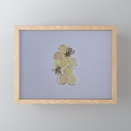 We Were Always Meant to Bee Framed Mini Art Print