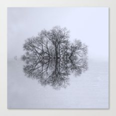 Trees of Reflection Canvas Print