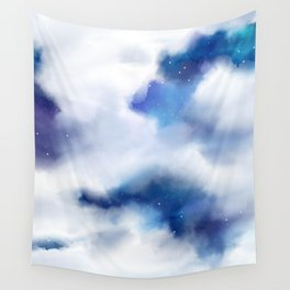 Amongst the Clouds Wall Tapestry