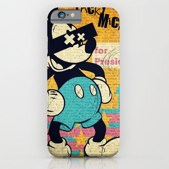 Tricky Mickey iPhone & iPod Case