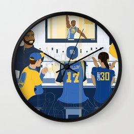 Goldblooded Wall Clock