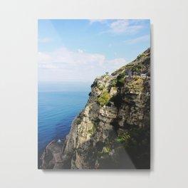 The Amalfi Coast Metal Print