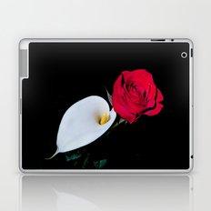 Calla Lily & Rose Laptop & iPad Skin