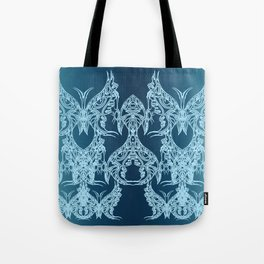 Indian Butterfly Enblem Tote Bag