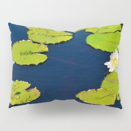 Dark Blue Pond by Teresa Thompson Pillow Sham