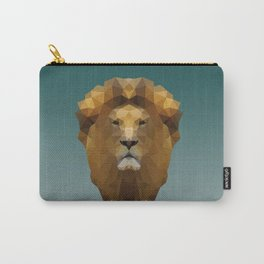 Polygon Lion Carry-All Pouch