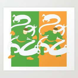 Dr. Octopus Art Print