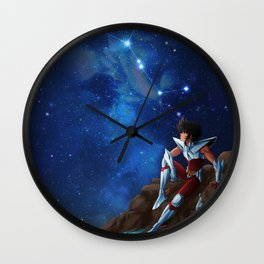 Pegasus - Saint Seiya Artwork Wall Clock