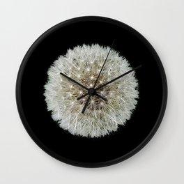 Dandelion Love Wall Clock