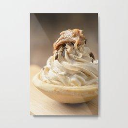 Mini Banoffee Pie Metal Print