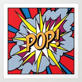 POP Art Exclamation Art Print