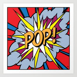 POP Art Exclamation Kunstdrucke