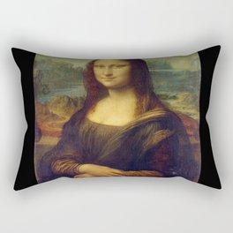 Leonardo da Vinci -Mona lisa - Rectangular Pillow