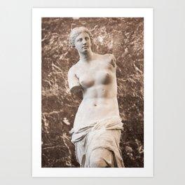 Venus de Milo Kunstdrucke
