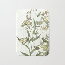 Cultivating my mind garden Bath Mat