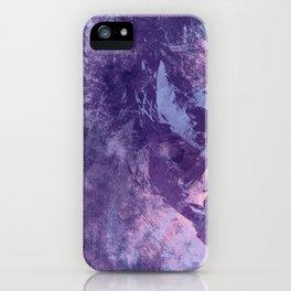 Purple texture iPhone Case
