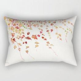Vines Watercolor Rectangular Pillow