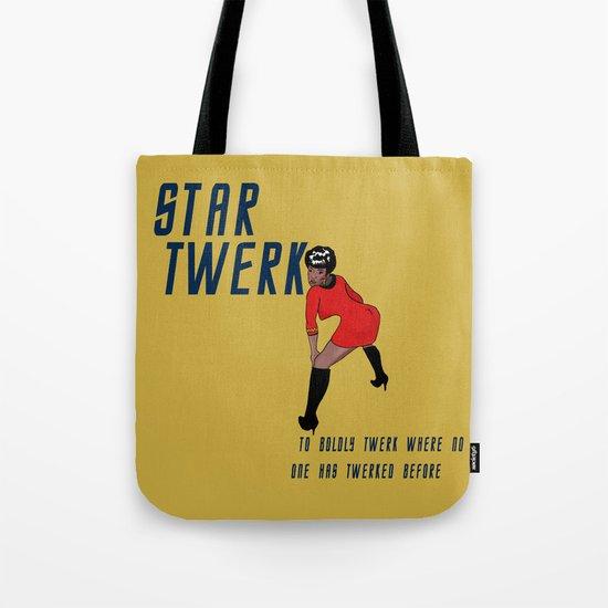 STAR TWERK Tote Bag
