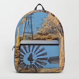 Wind Punk Golden Quivers Backpack
