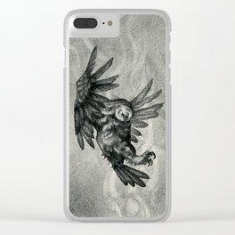 The Owl and the Witch Clear iPhone Case