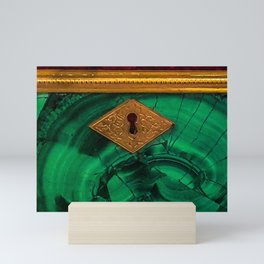 Malachite Box 4 Mini Art Print