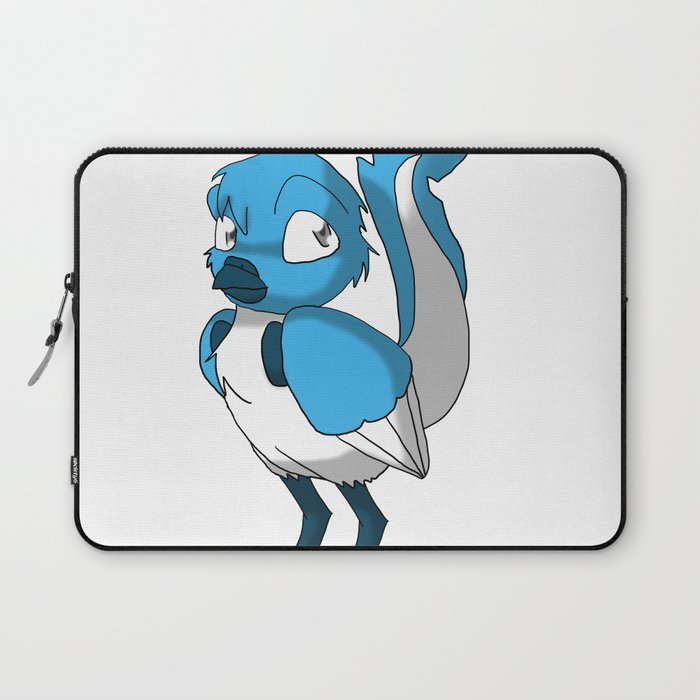 Light Blue Color Or Paint Your Own Reptilian Bird W Dark Blue Beak