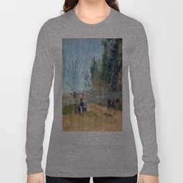 Sorghum Mill - Cross County Arkansas Long Sleeve T-shirt