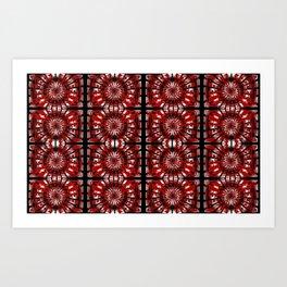 Pattern by channels ... Art Print